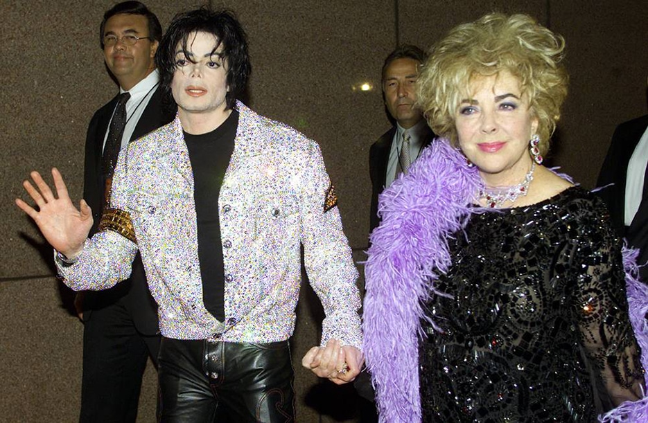 Майкл Джексон и Элизабет Тейлор